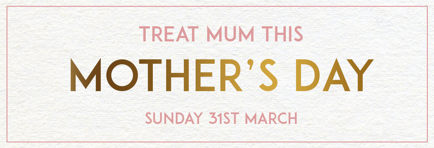 Mother's Day at The Drayton Arms