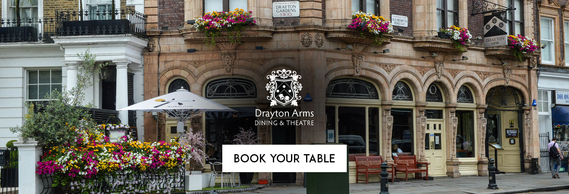 Book Your Table The Drayton Arms